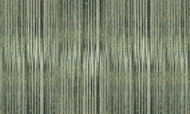 Stripes wheat Gogh tapeta na wymiar Byzantine Splendor, malarskie zielone pasy z obrazu van Gogha