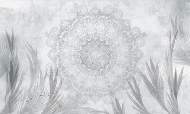 Mandala tapeta na wymiar Byzantine Splendor