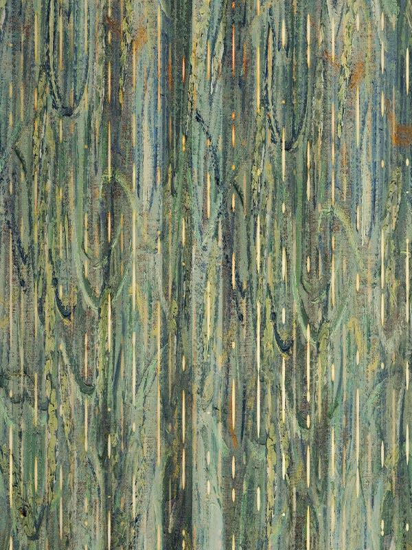 Stripes wheat Gogh tapety na wymiar Byzantine Splendor