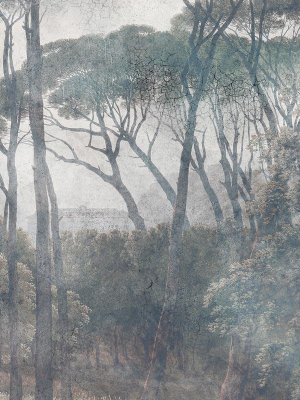Ancient Forest tapeta na wymiar Byzantine Splendor