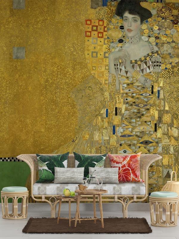 Klimt Adele Bloch Bauer tapeta na wymiar Byzantine Splendor
