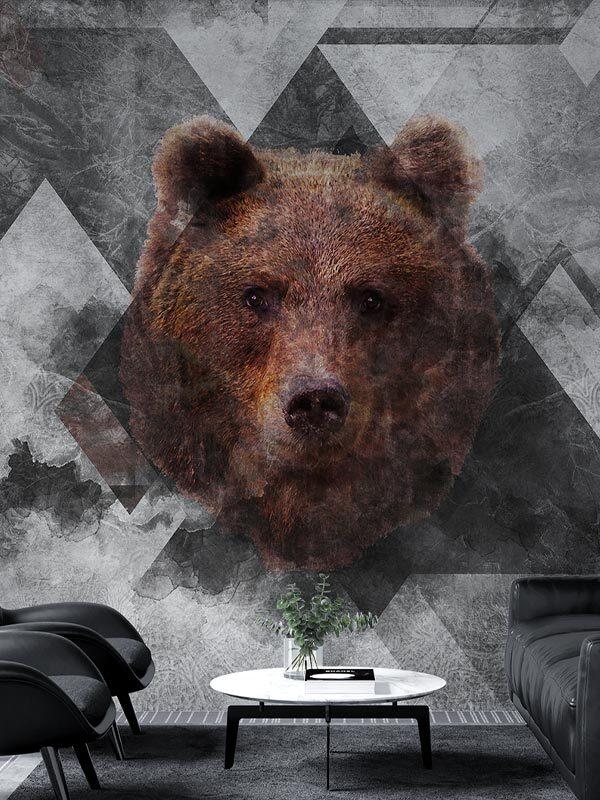 tapeta na wymiar, zamówienie z niedźwiedziem Byzantine Splendor