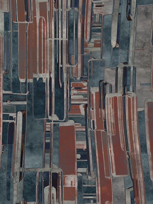 City of glass tapeta na wymiar Byzantine Splendor