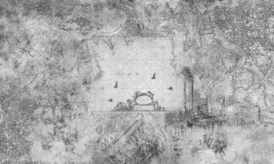 Wind Rose tapeta na wymiar Byzantine Splendor