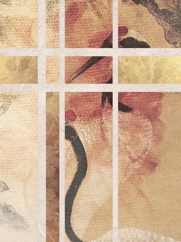 Nippon Żurawie tapeta na wymiar Byzantine Splendor